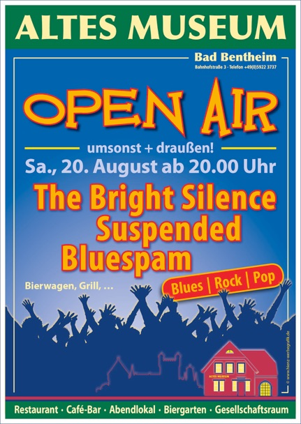 Altes Museum Bad Bentheim Open Air, 20.8.2016, 20Uhr