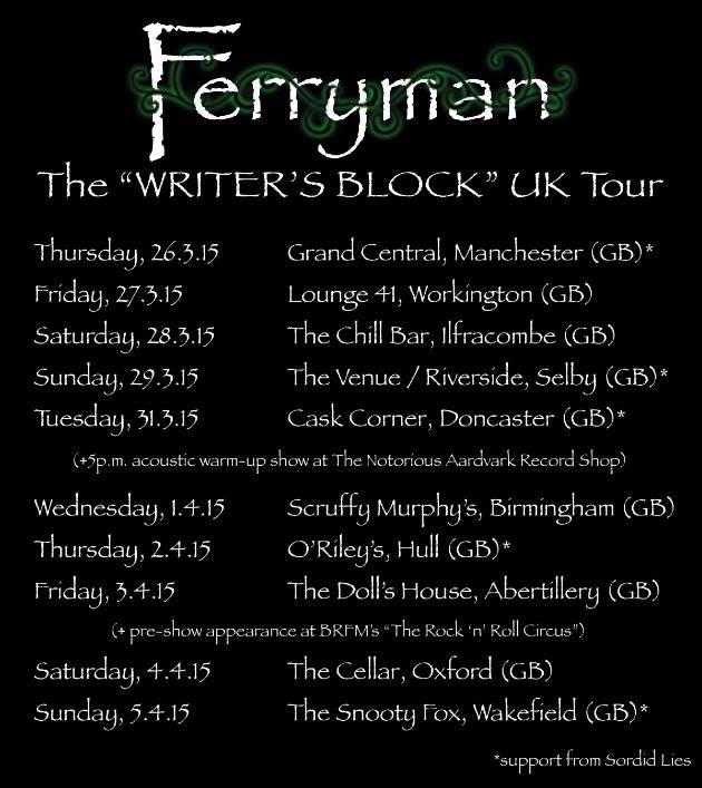 ferryman tour dates